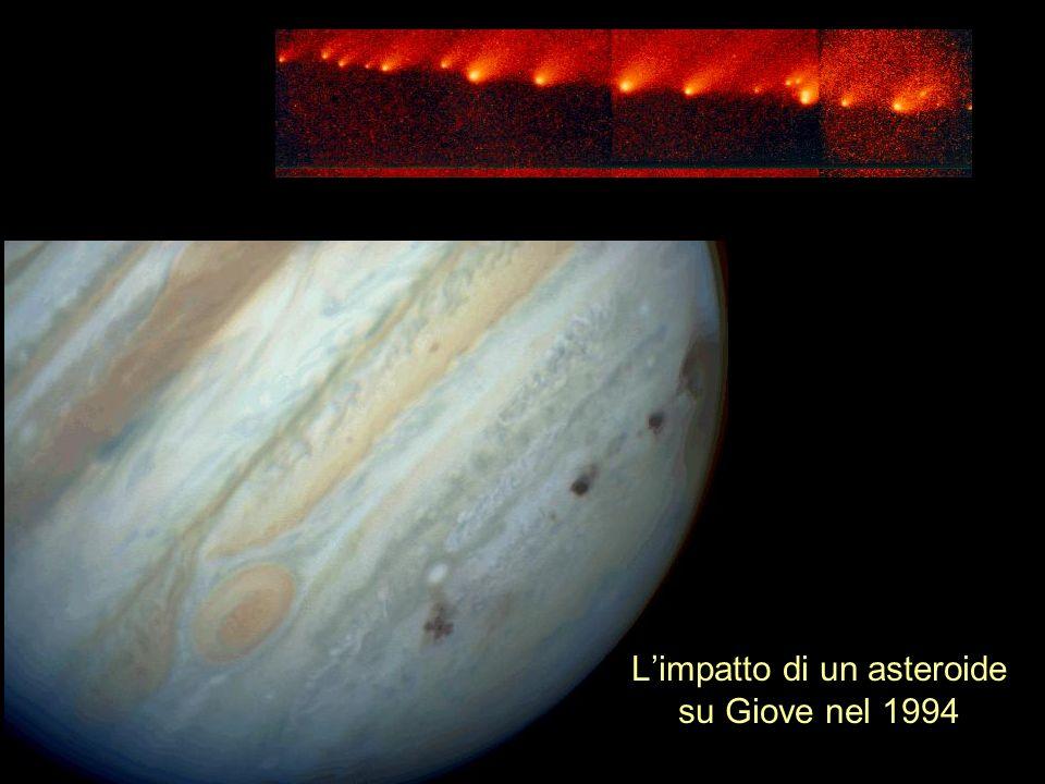 L'impatto di un asteroide su Giove nel 1994
