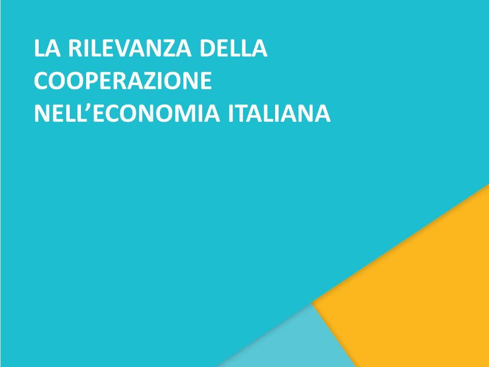 LA RILEVANZA DELLA COOPERAZIONE NELL'ECONOMIA ITALIANA
