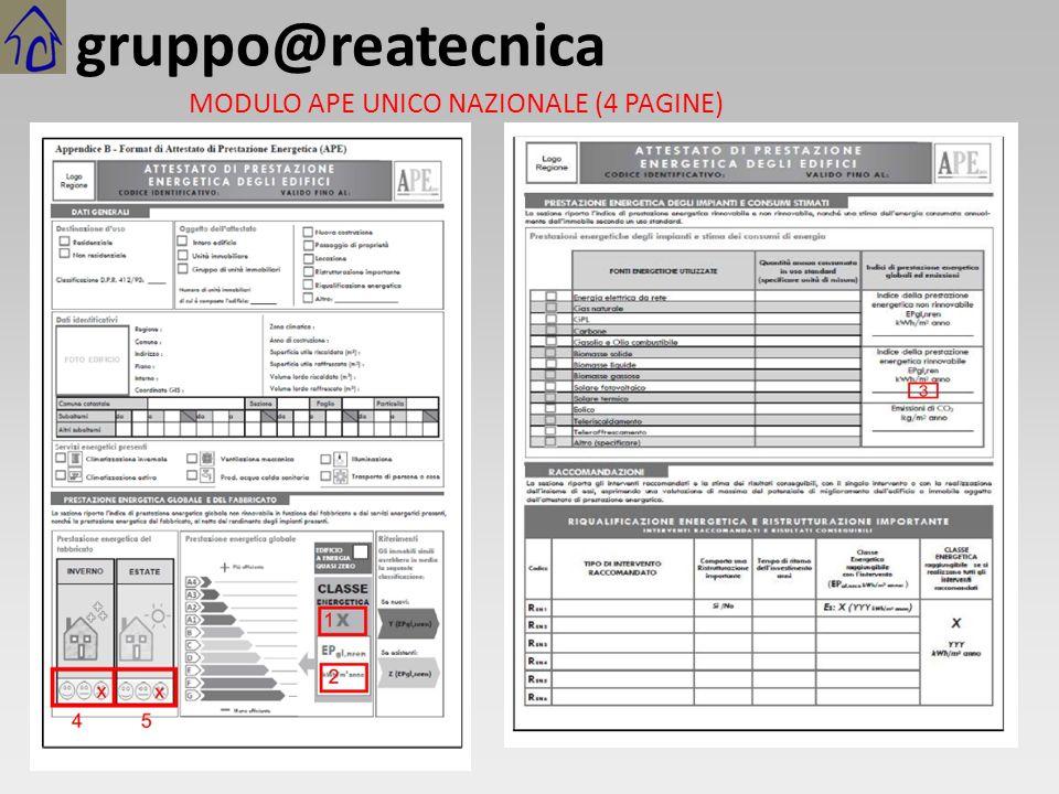 gruppo@reatecnica MODULO APE UNICO NAZIONALE (4 PAGINE)