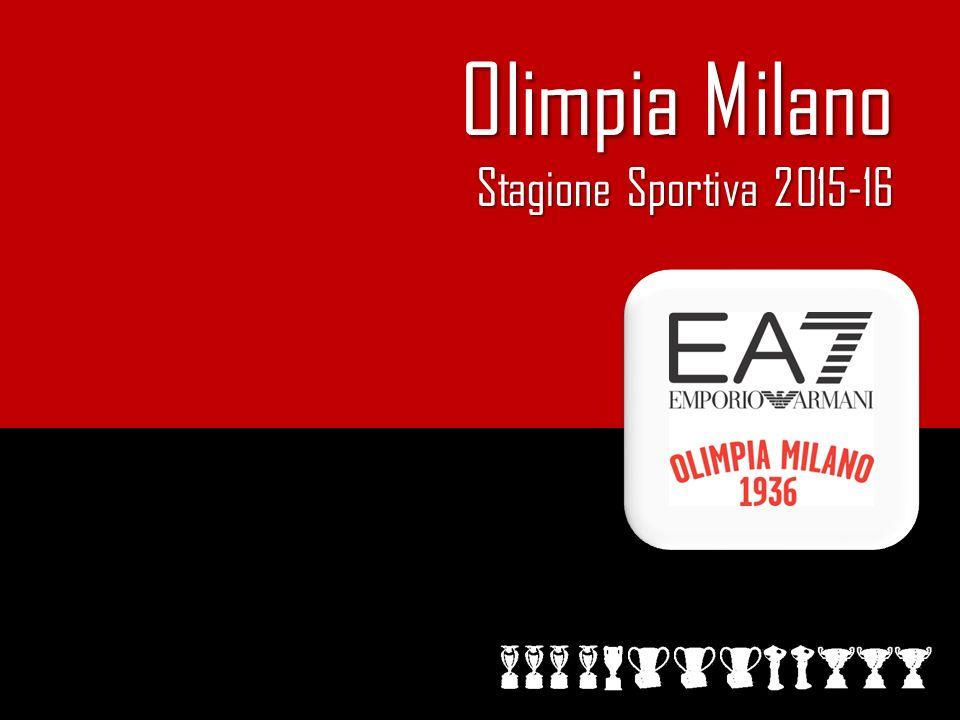 Olimpia Milano Olimpia Milano Stagione Sportiva 2015-16