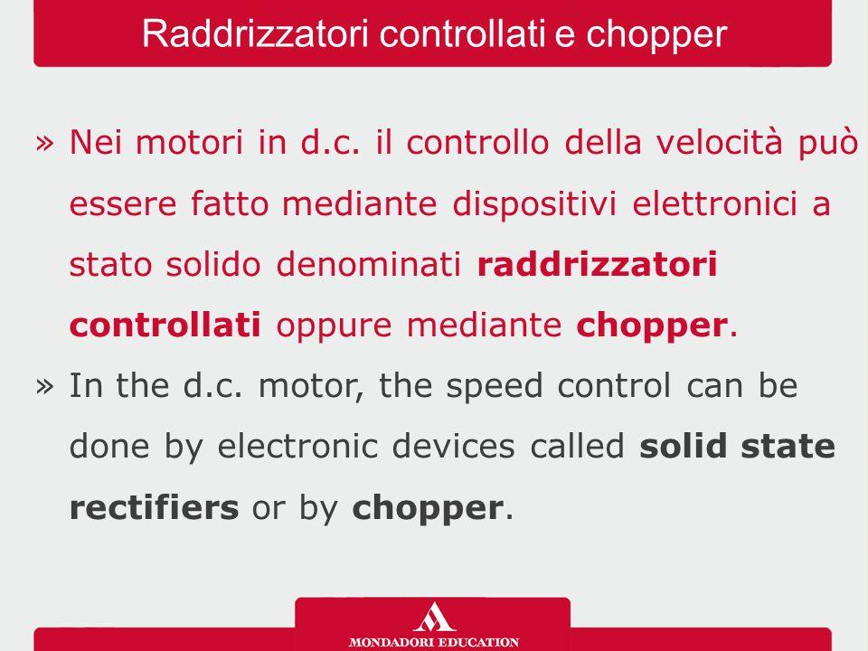 »I metodi usuali per realizzare la frenatura elettrica di motori in d.c.