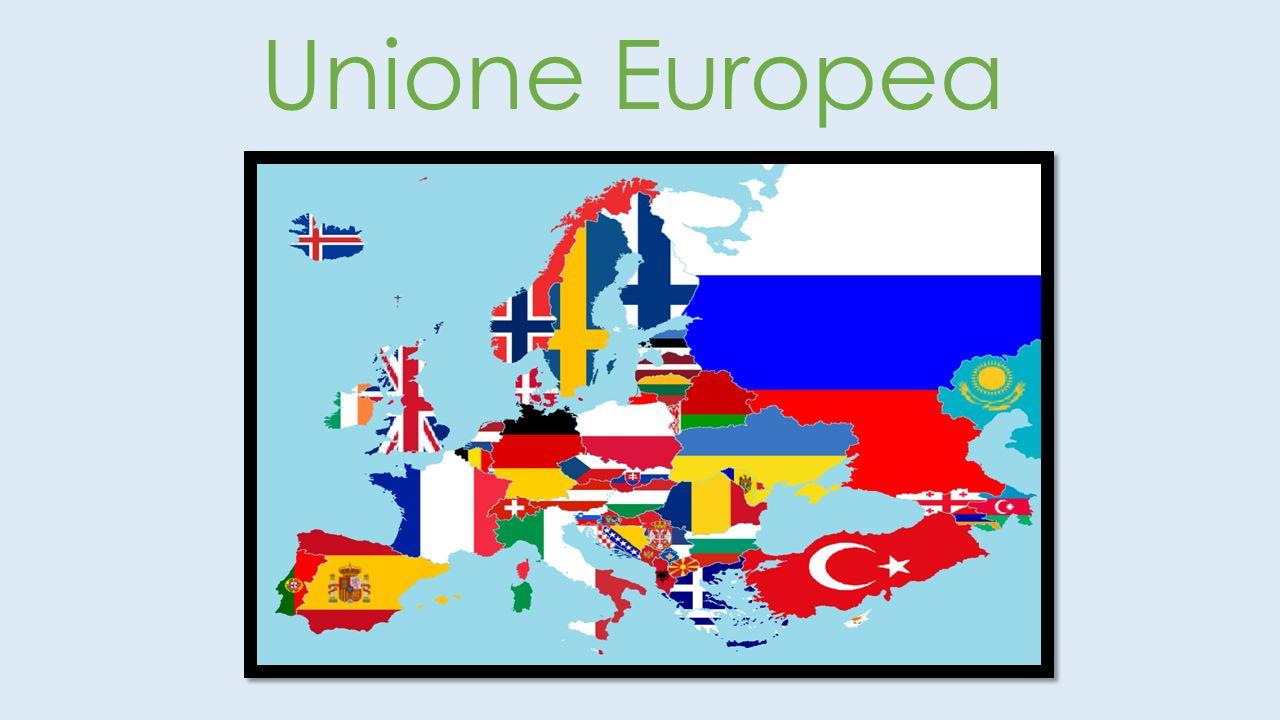L Unione europea (abbreviata in UE) è un unione politica ed economica di carattere sovranazionale, che comprende 28 paesi membri indipendenti e democratici del continente europeo.