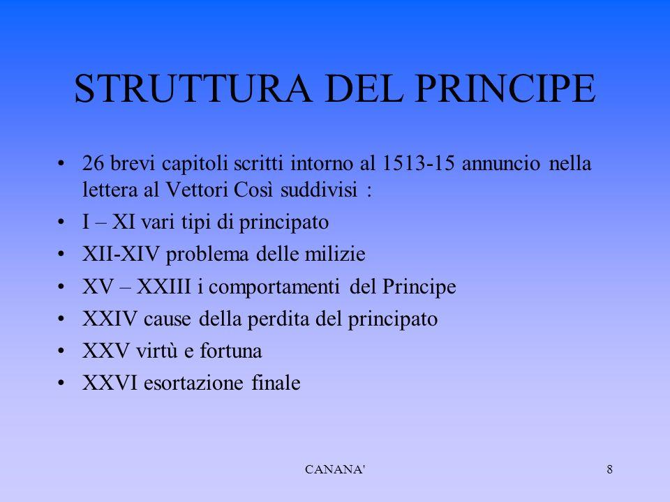 La vita di Castruccio Castracani da Lucca è un operetta letteraria scritta tra il 7 luglio e il 29 agosto del 1520ed ispirata alla vita dell uomo d arme lucchese Castruccio Antelminelli, condottiero ghibellino del Trecento.