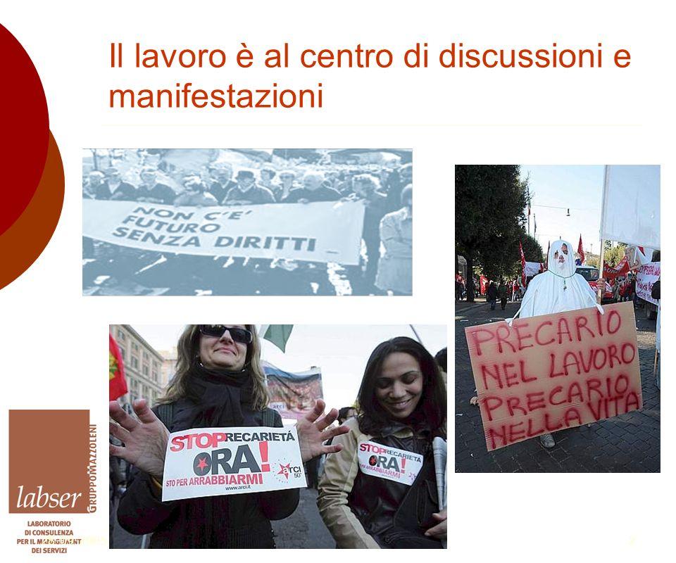 28-09-20052 Il lavoro è al centro di discussioni e manifestazioni