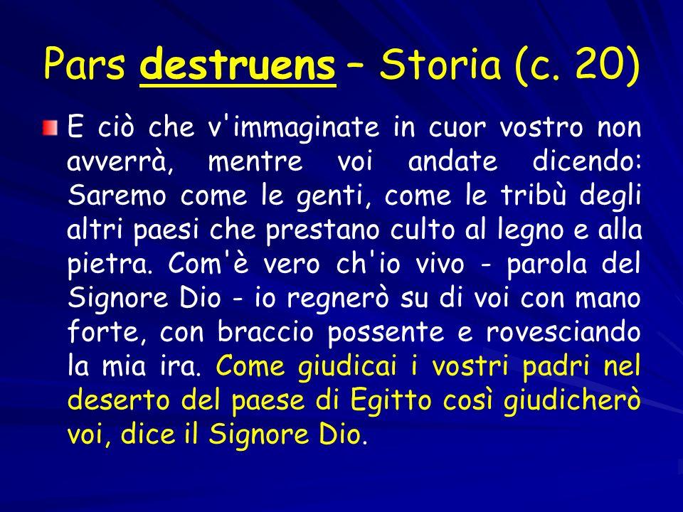 Pars destruens – Storia (c.