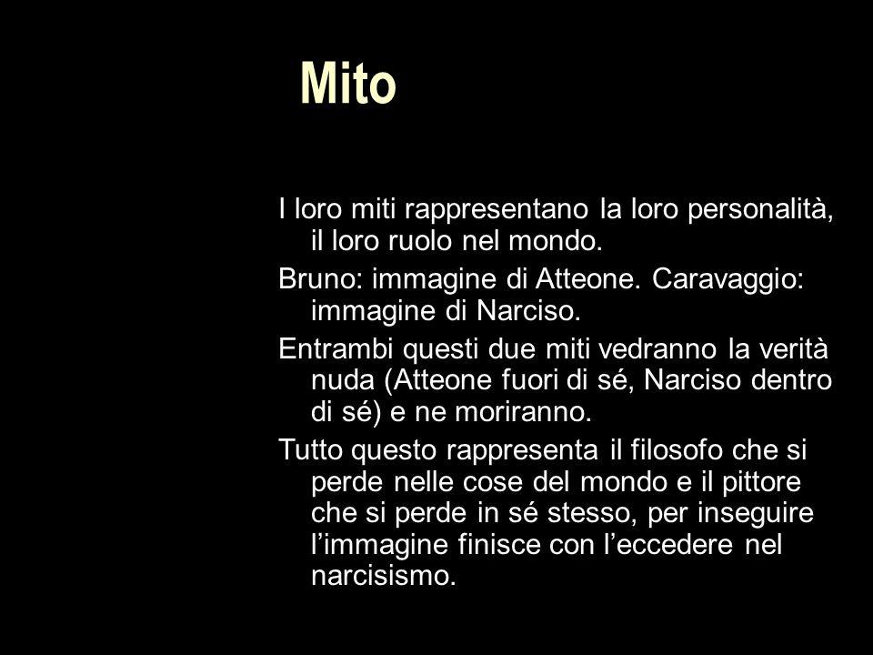 Mito I loro miti rappresentano la loro personalità, il loro ruolo nel mondo.