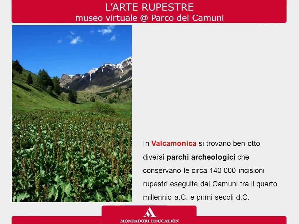 In Valcamonica si trovano ben otto diversi parchi archeologici che conservano le circa 140.000 incisioni rupestri eseguite dai Camuni tra il quarto millennio a.C.