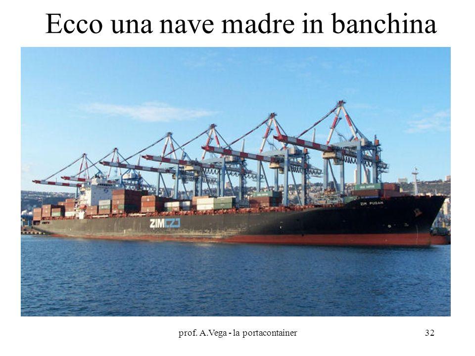 prof. A.Vega - la portacontainer32 Ecco una nave madre in banchina
