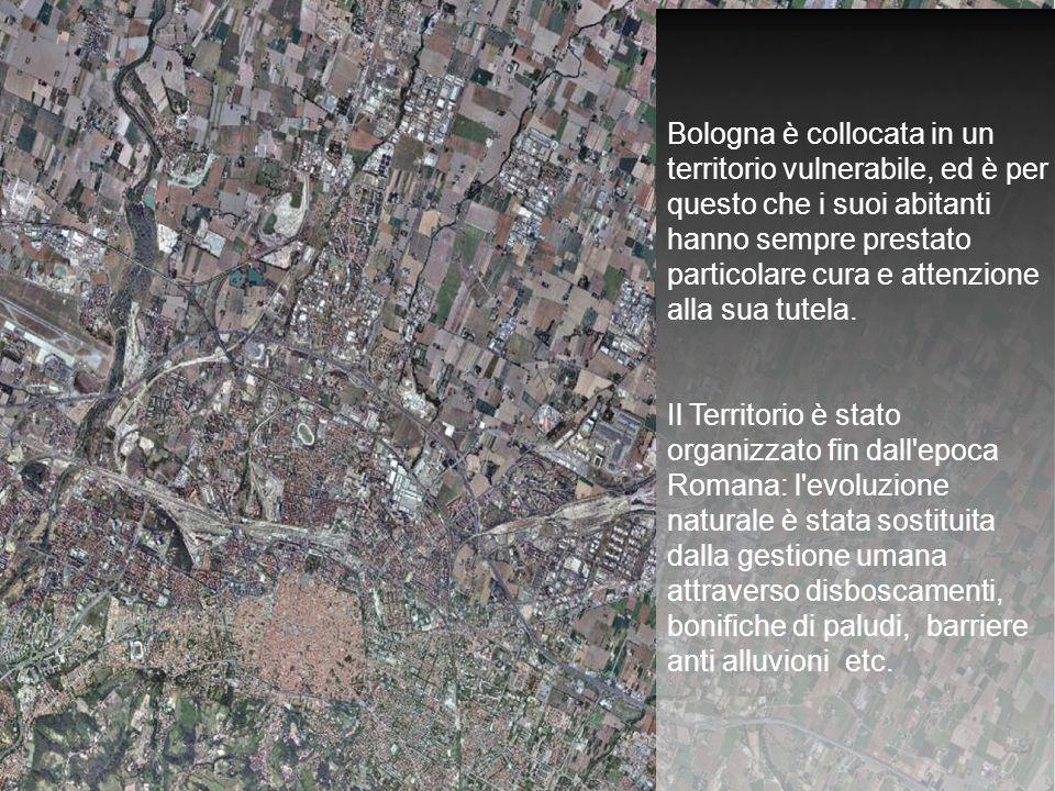 Bologna è collocata in un territorio vulnerabile, ed è per questo che i suoi abitanti hanno sempre prestato particolare cura e attenzione alla sua tutela.