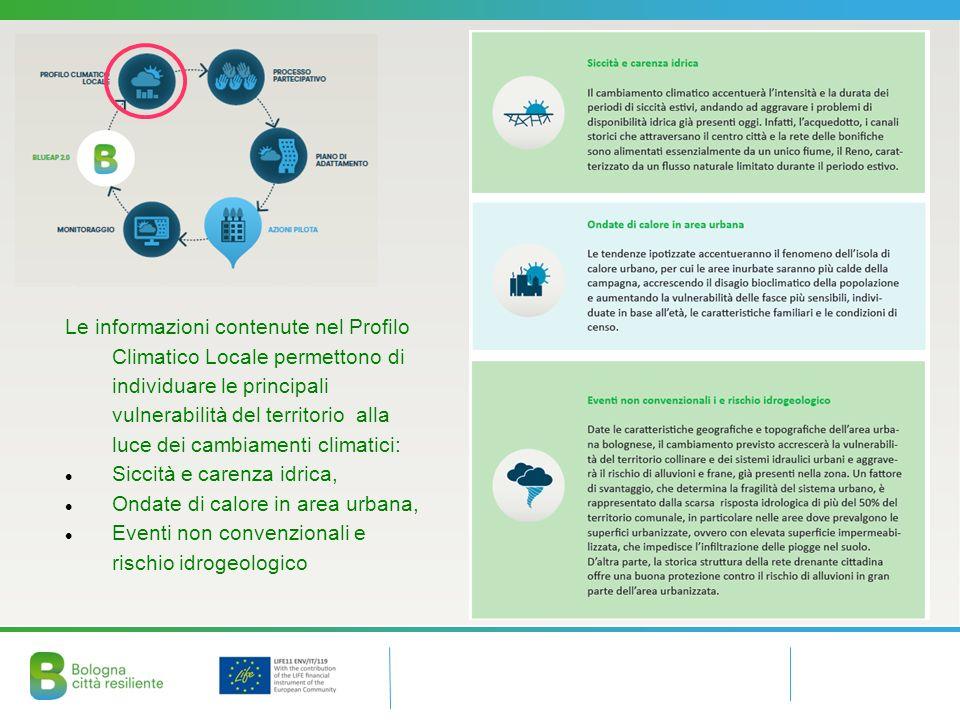 Il Piano di Adattamento è stato costruito con un percorso partecipativo di collaborazione in cui i soggetti sono anche attuatori delle azioni del piano.