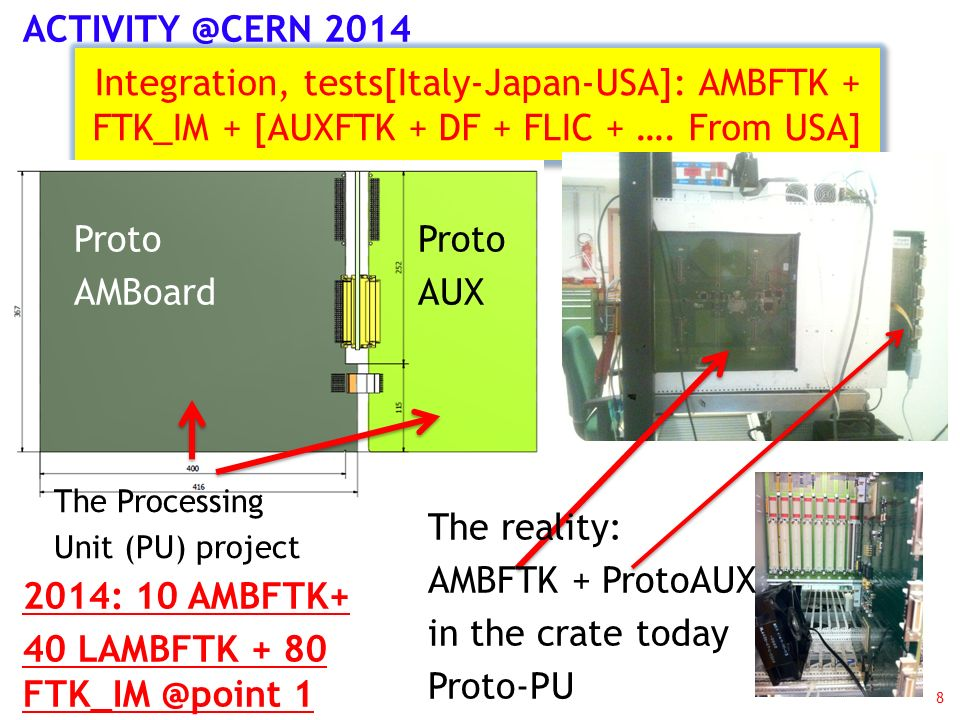Sblocco SJ – 24 keuros - Pisa 9 8 9U VME (VIPA) crates from CDF + Powerfull FANs + heat exchangers + 4 racks….