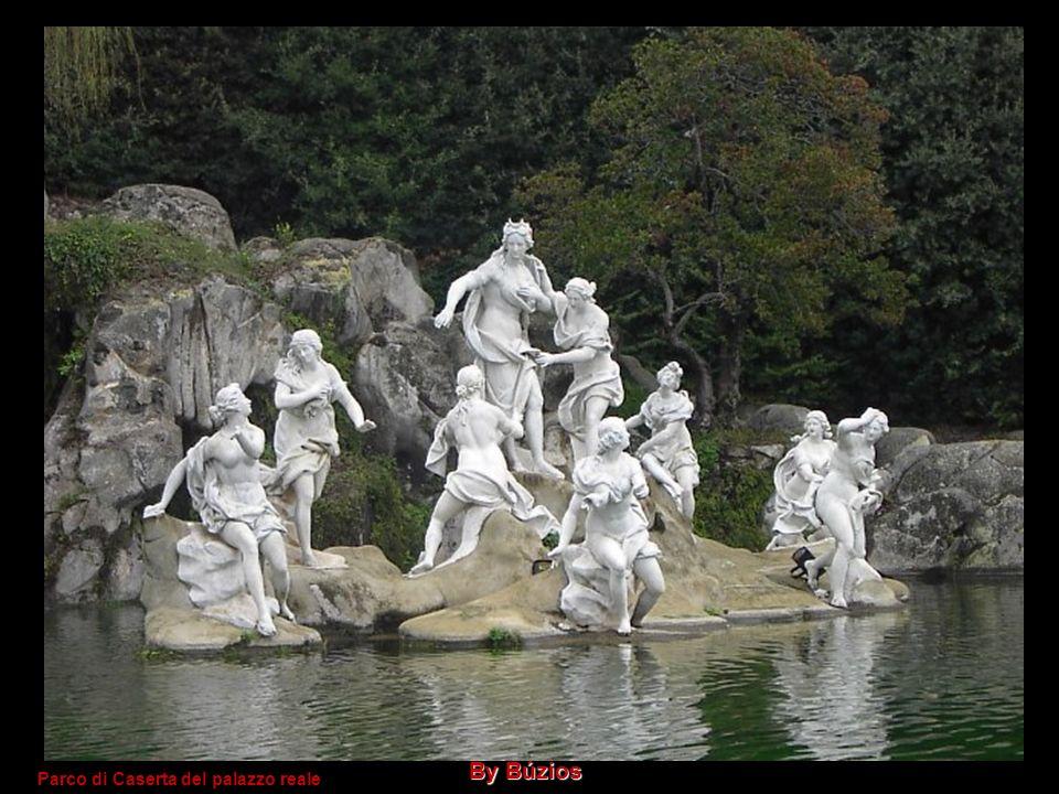 Parco di Caserta del palazzo reale By Búzios