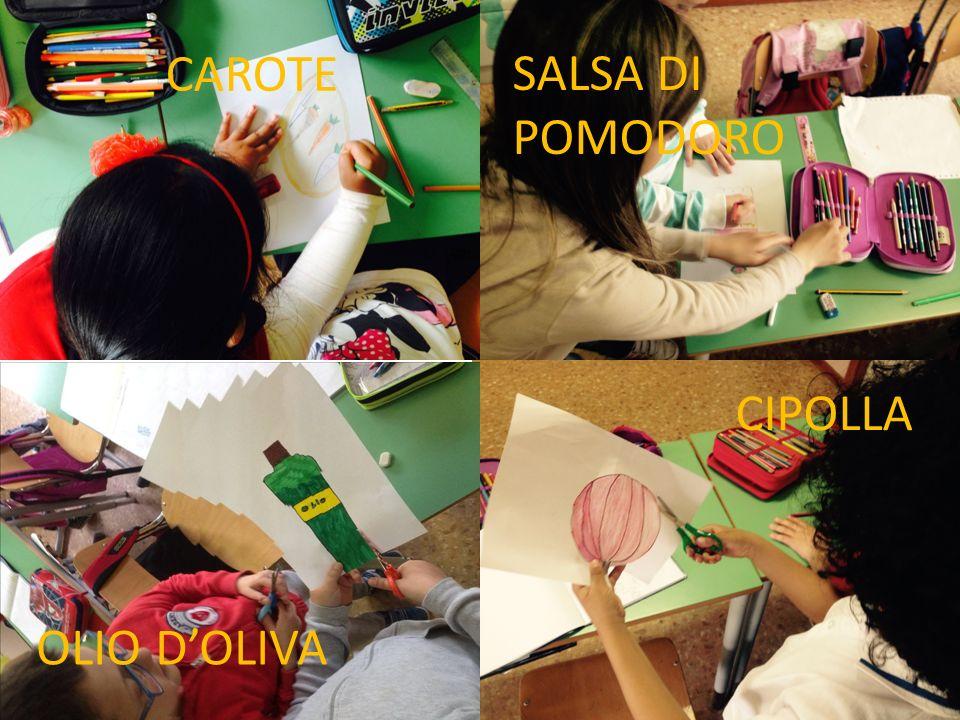 CAROTE CIPOLLA OLIO D'OLIVA SALSA DI POMODORO