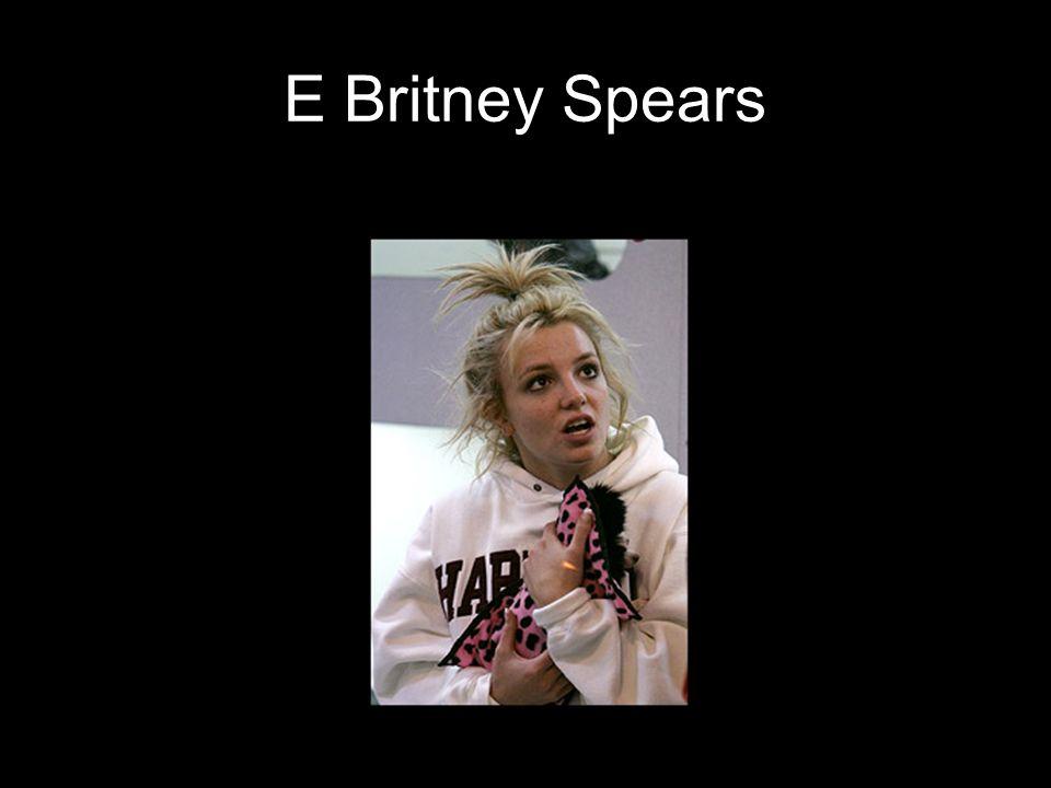 E Britney Spears