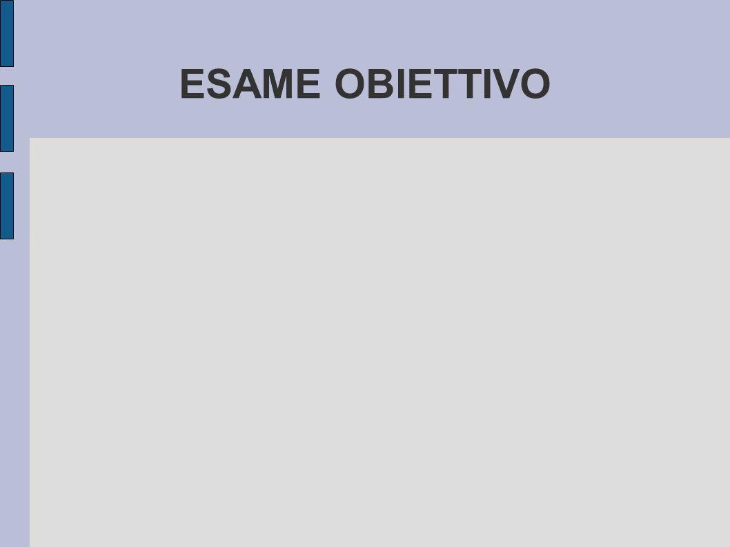 ESAME OBIETTIVO