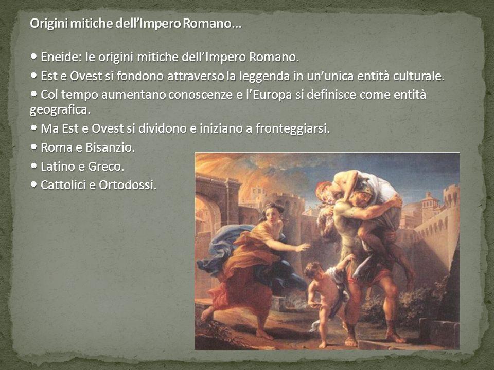 Eneide: le origini mitiche dell'Impero Romano. Eneide: le origini mitiche dell'Impero Romano.