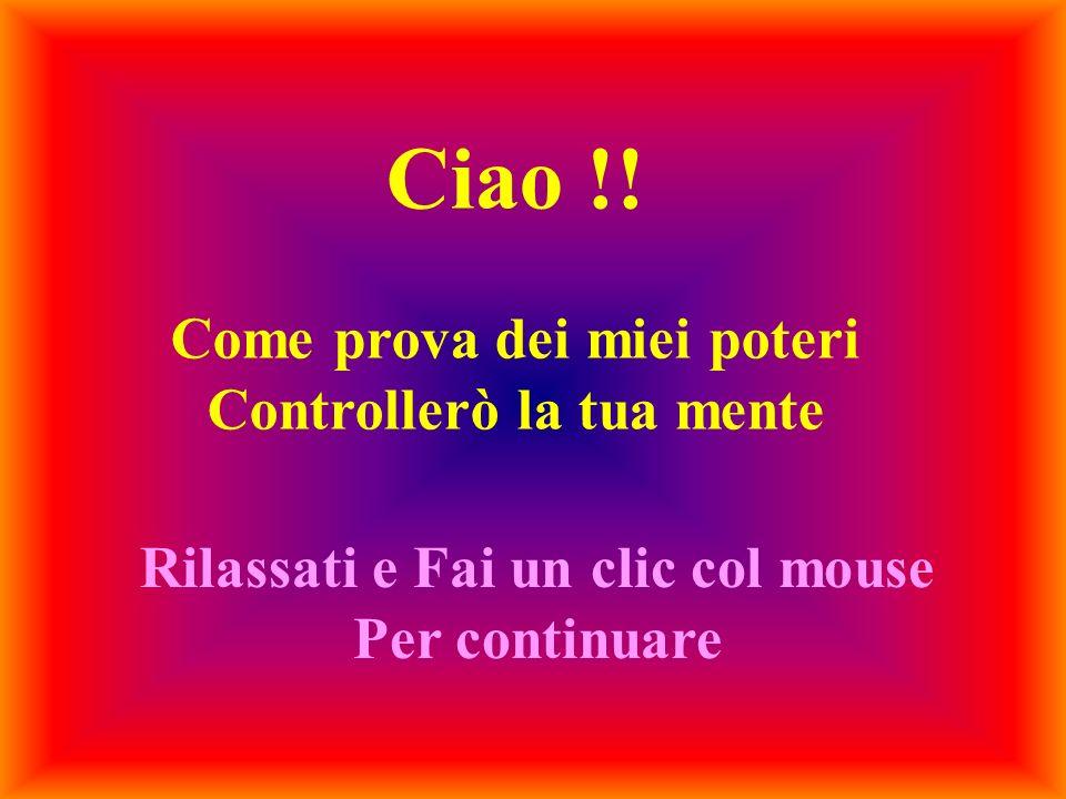Ciao !.