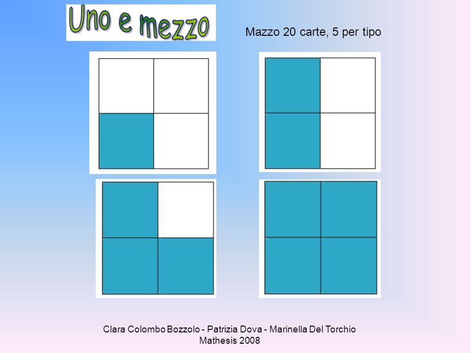 Clara Colombo Bozzolo - Patrizia Dova - Marinella Del Torchio Mathesis 2008 Mazzo 20 carte, 5 per tipo