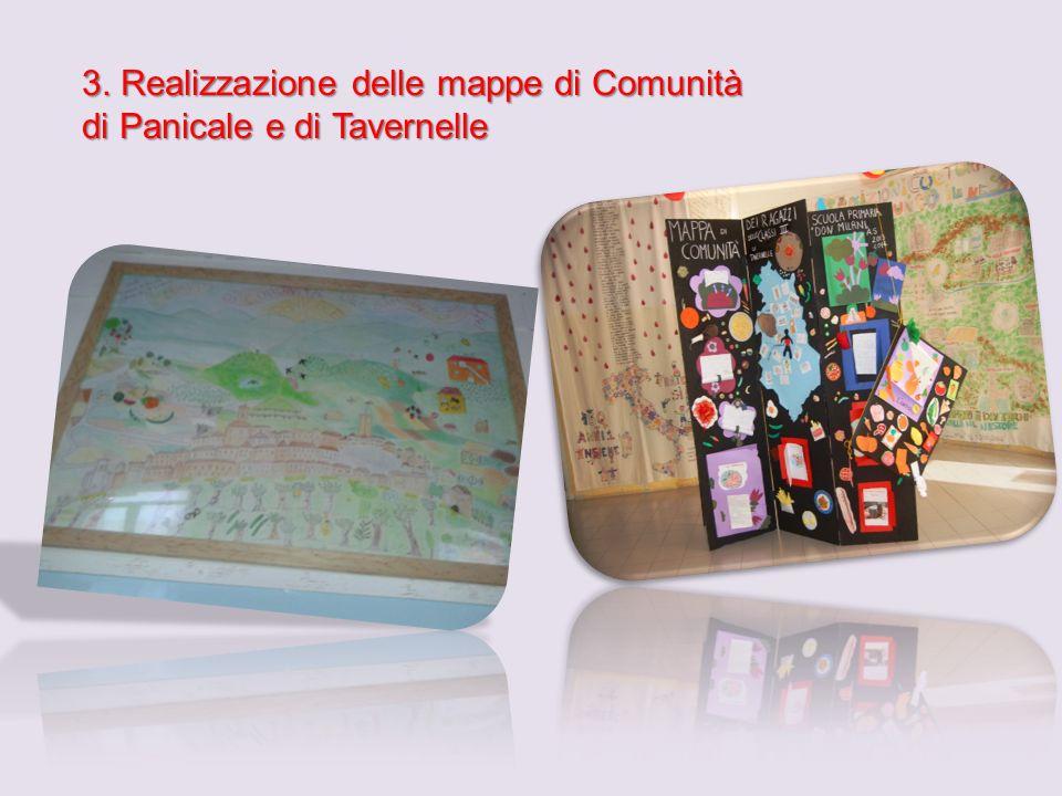 3. Realizzazione delle mappe di Comunità di Panicale e di Tavernelle