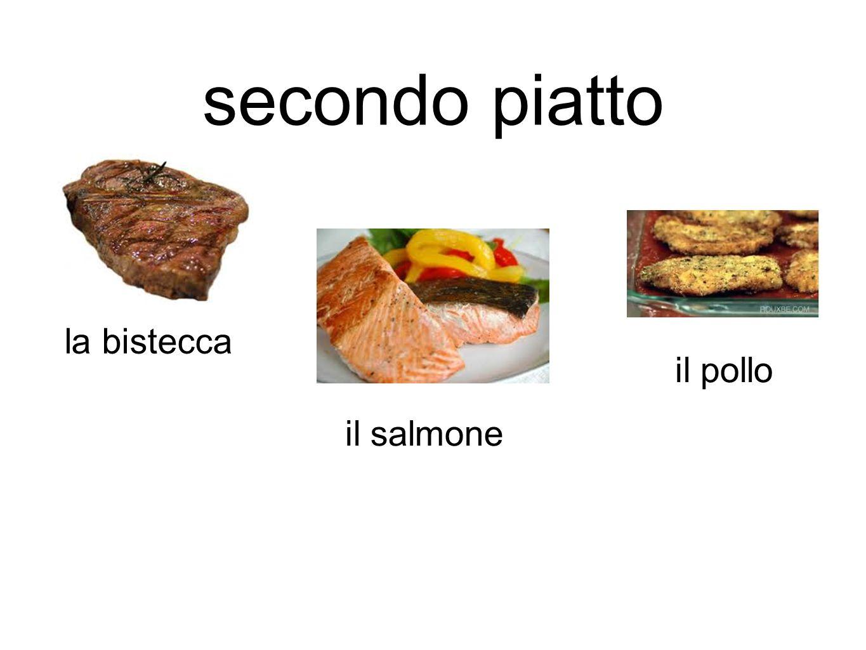 secondo piatto la bistecca il salmone il pollo