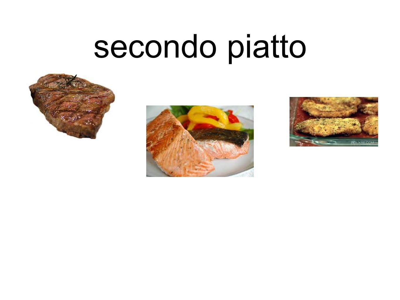 secondo piatto