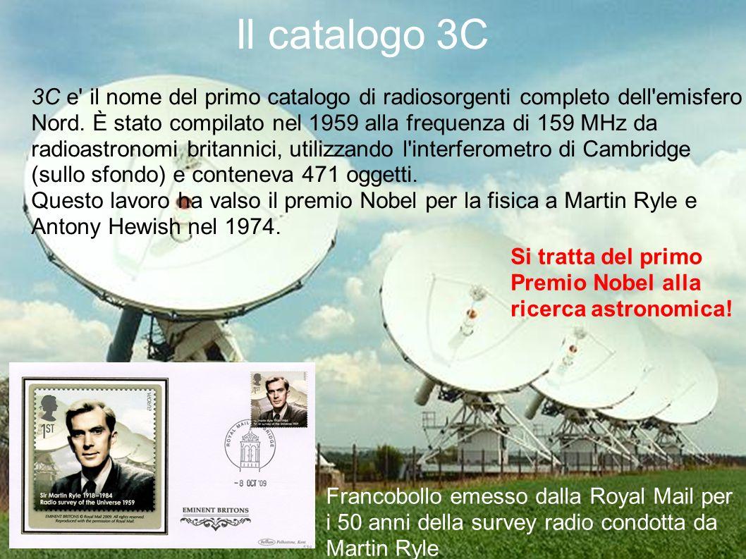 Il catalogo 3C 3C e il nome del primo catalogo di radiosorgenti completo dell emisfero Nord.