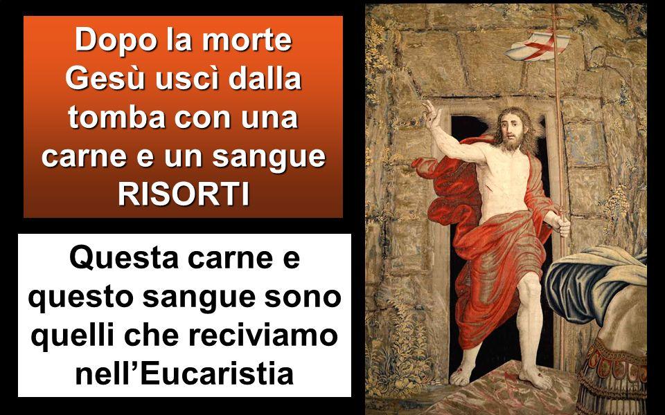 Gv 6,51-58 In quel tempo, Ges ù disse alla folla: « Io sono il pane vivo, disceso dal cielo.