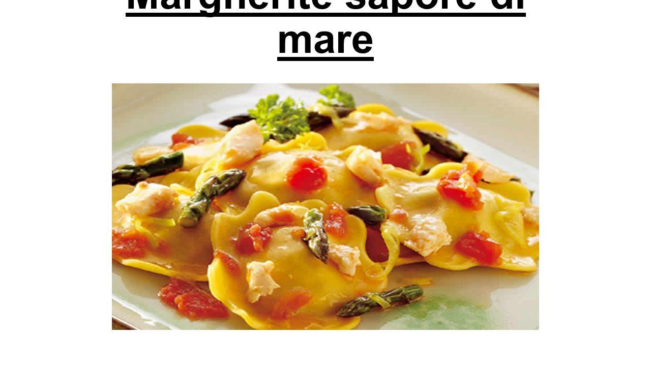 Rettangoli alla Cernia - Rectangles with Grouper Denominazione commerciale: Rettangoli alla Cernia di prima qualità surgelati Ingredienti: Pasta: semola di grano duro, uova, acqua.