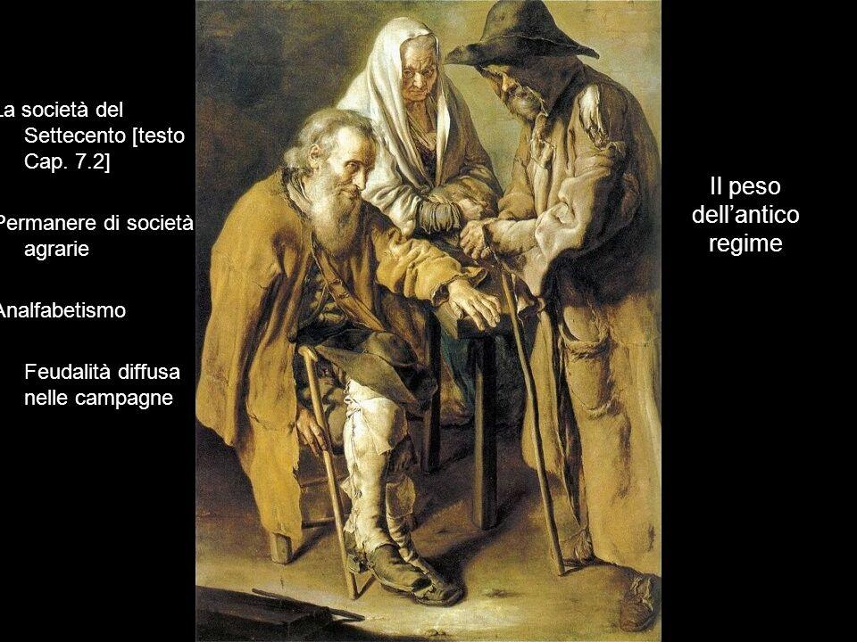 Il peso dell'antico regime La società del Settecento [testo Cap.