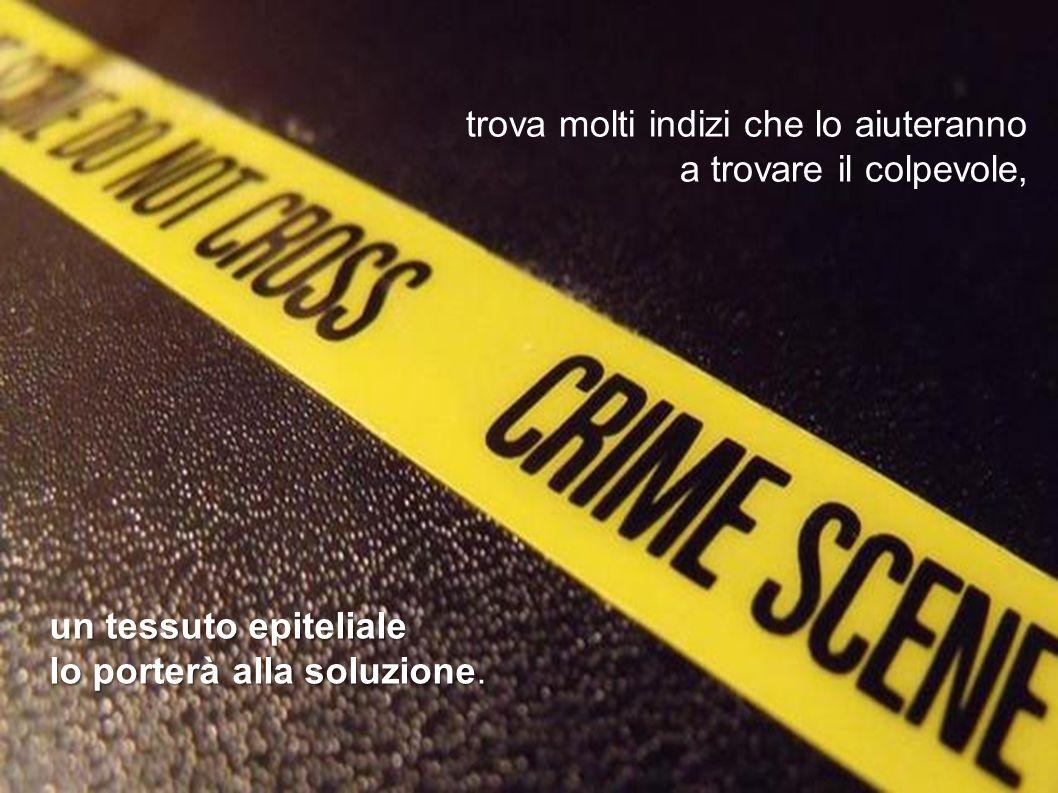 Trevor analizza la scena del crimine
