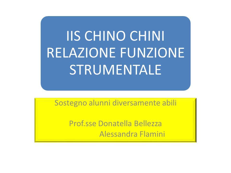 Sostegno alunni diversamente abili Prof.sse Donatella Bellezza Alessandra Flamini