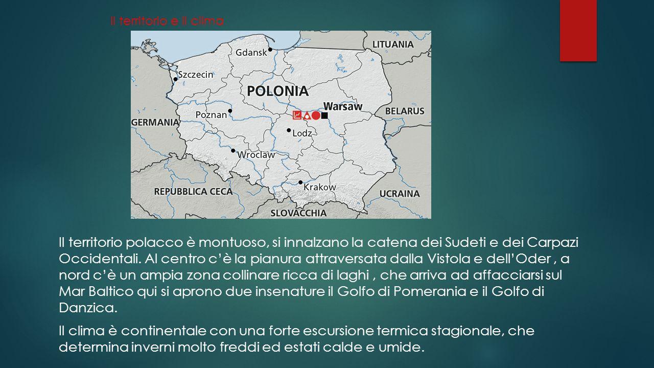 La popolazione e le città  La popolazione polacca risiede per il 61% nelle città, soprattutto a Varsavia e in centri come Katowice e Cracovia.