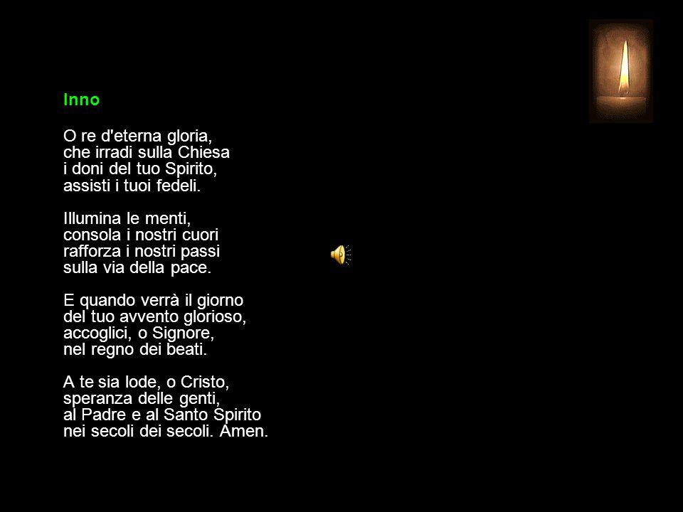 26 SETTEMBRE 2015 SABATO - XXV SETTIMANA DEL TEMPO ORDINARIO UFFICIO DELLE LETTURE INVITATORIO V.