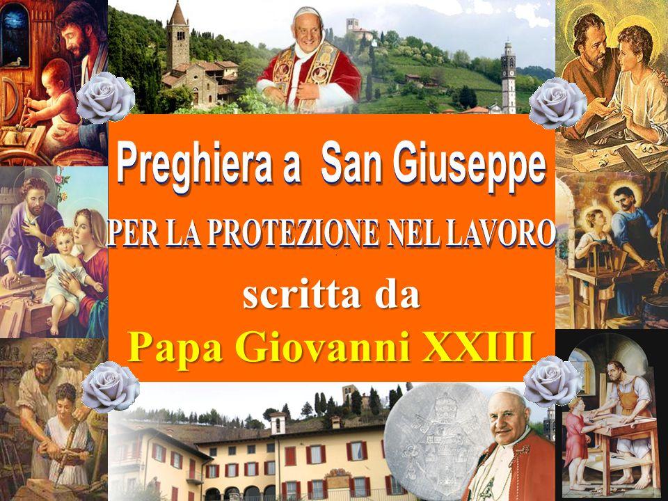 . scritta da Papa Giovanni XXIII