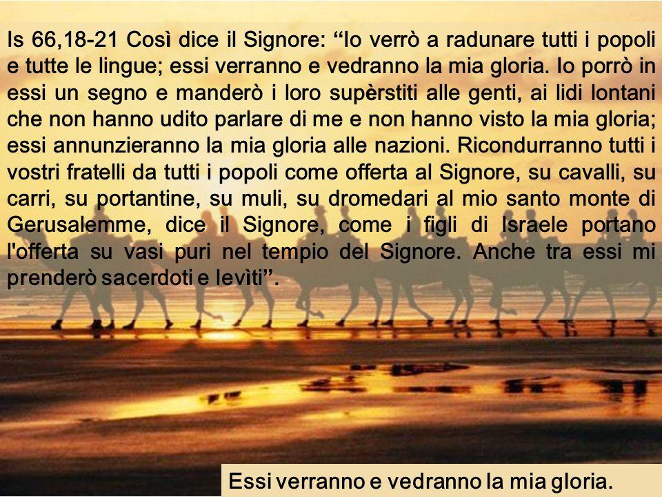 Anno C Domenica XXI Tempo ordinario 26 agosto 2007 Musica: Liturgia Melkita di S.