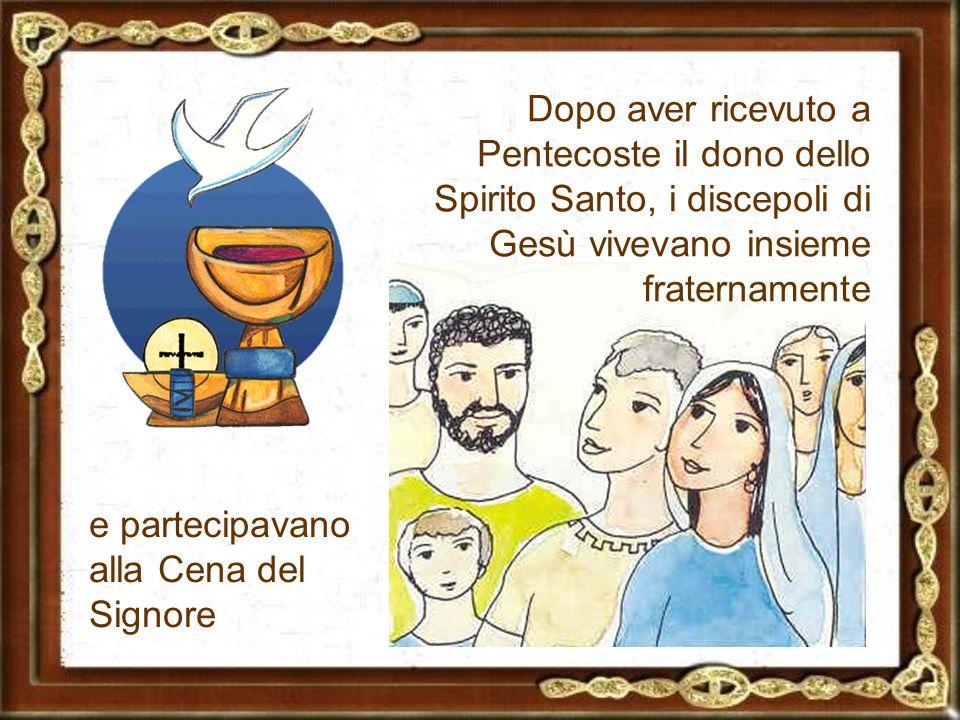 Dopo l'ascensione di Gesù al cielo gli apostoli furono invitati da un angelo a riprendere la loro vita quotidiana.