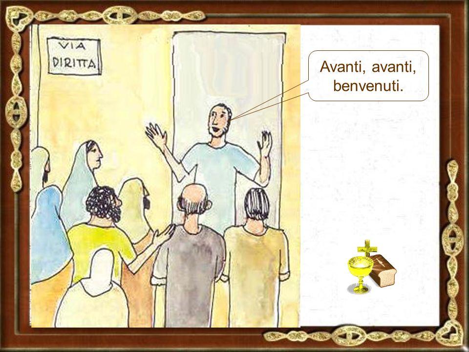 Questa settimana celebriamo la cena del Signore in casa di Giuda: ha una sala grande, ci staremo tutti.