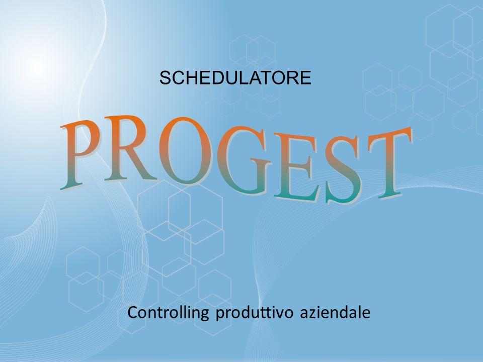 SCHEDULATORE Controlling produttivo aziendale