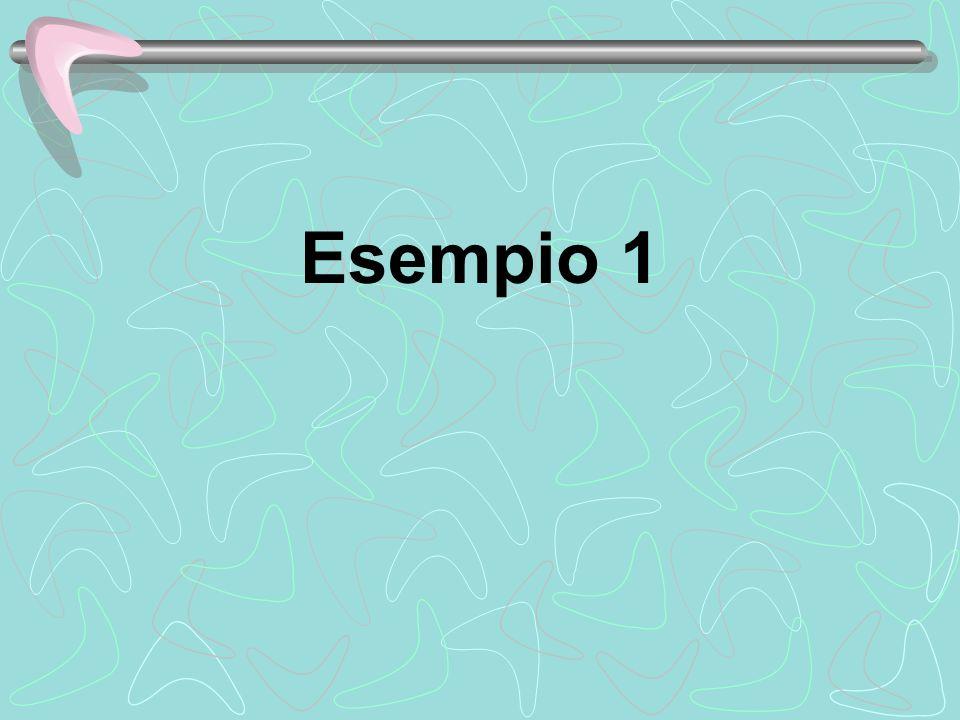 Esempio 1
