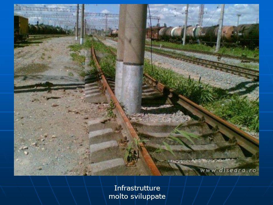 Infrastrutture molto sviluppate