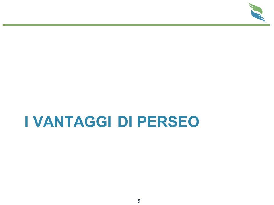 I VANTAGGI DI PERSEO 5