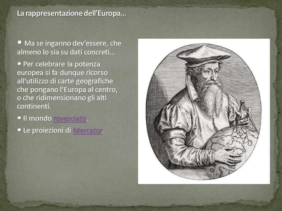 Europa: la pittura antropomorfa.
