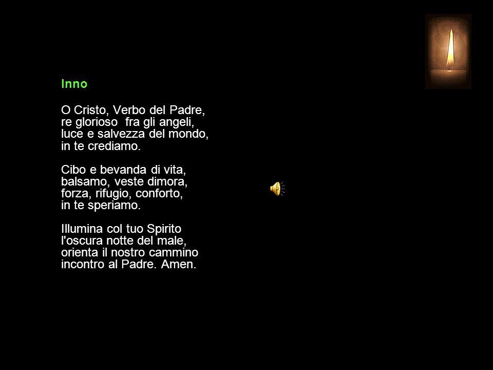 13 AGOSTO 2015 GIOVEDÌ - XIX SETTIMANA DEL TEMPO ORDINARIO UFFICIO DELLE LETTURE INVITATORIO V.