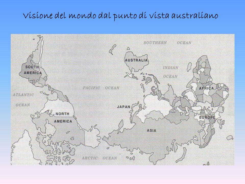 Visione del mondo dal punto di vista australiano