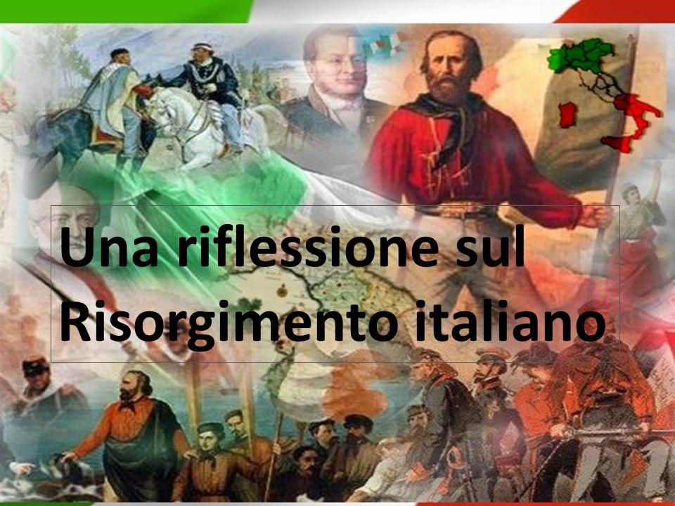 Lessico del Risorgimento Patriota = Nazione = Liberali = Democratici = …………………..