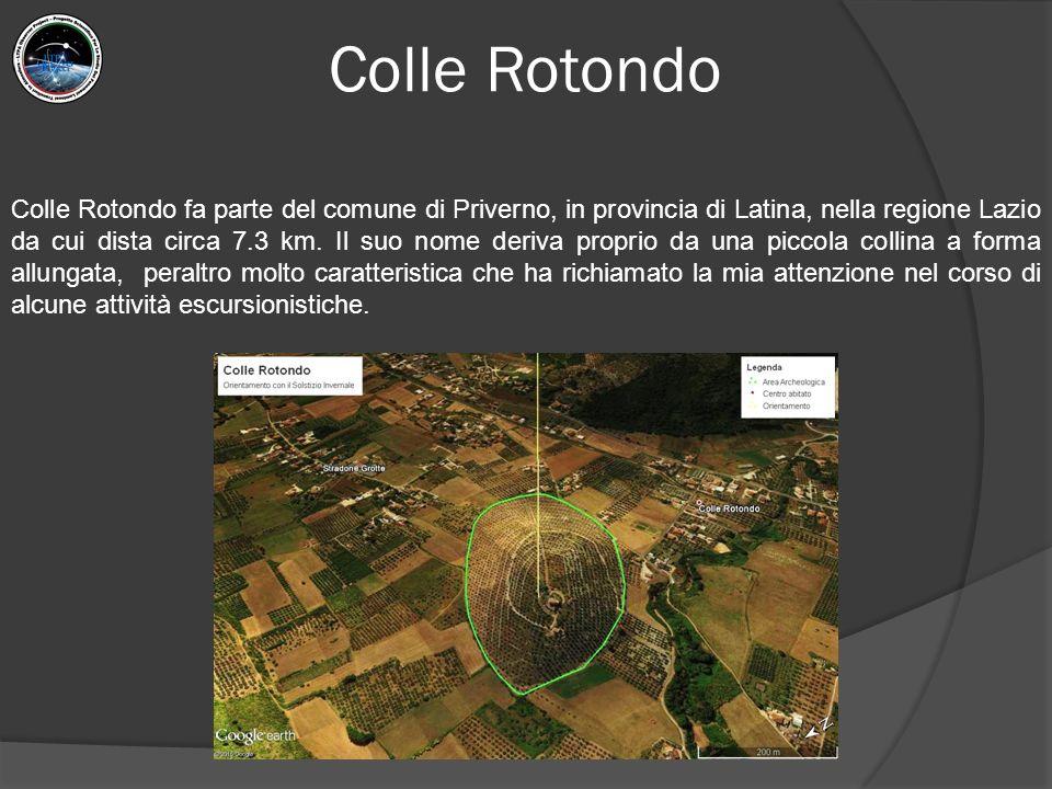 Colle Rotondo fa parte del comune di Priverno, in provincia di Latina, nella regione Lazio da cui dista circa 7.3 km. Il suo nome deriva proprio da un