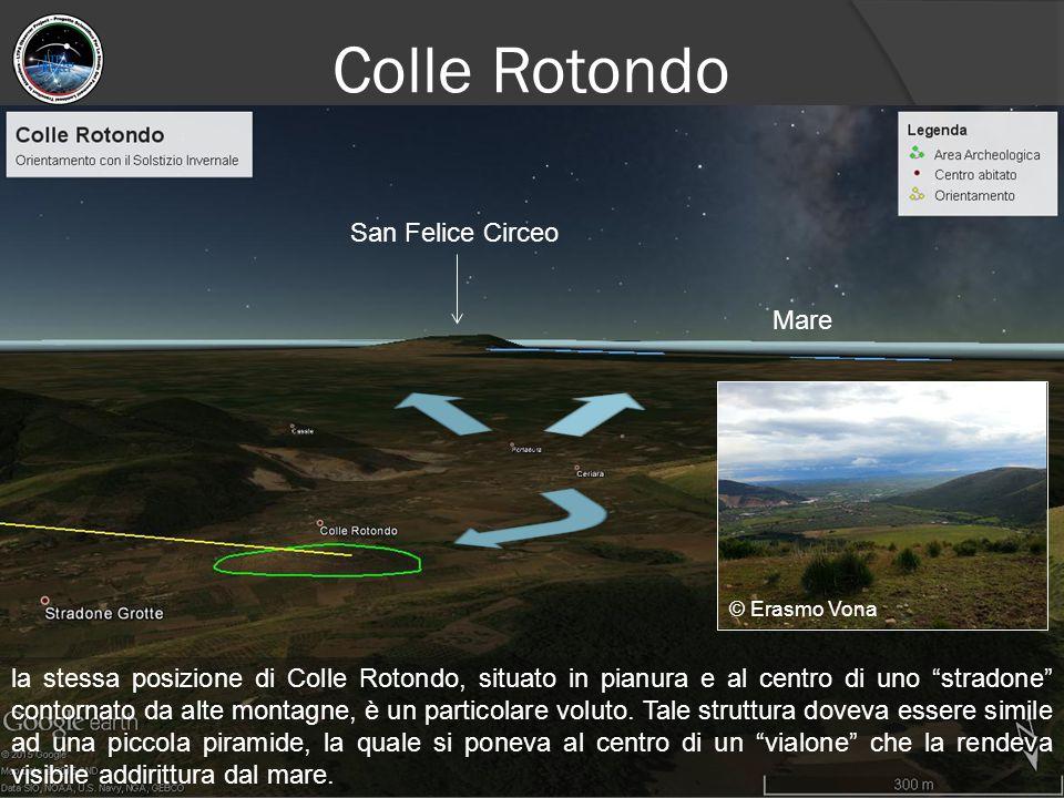 """Colle Rotondo la stessa posizione di Colle Rotondo, situato in pianura e al centro di uno """"stradone"""" contornato da alte montagne, è un particolare vol"""