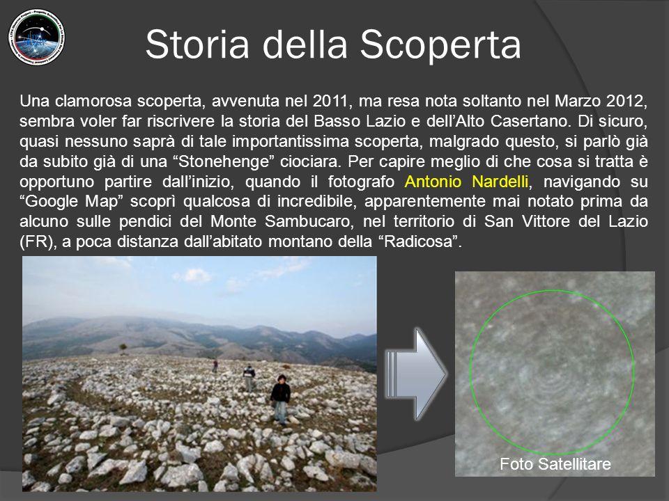 Orientamento Astronomico Lo studio archeoastronomico inizia nel 2015, quando il sottoscritto comprendere che l'area in questione dove sorge il circolo di pietre ha caratteristiche particolari.