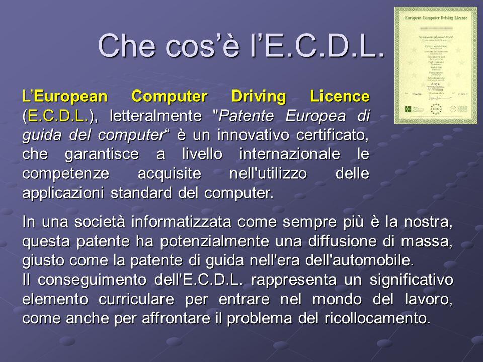 Che cos'è l'E.C.D.L.
