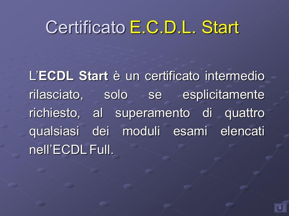 Certificato E.C.D.L.